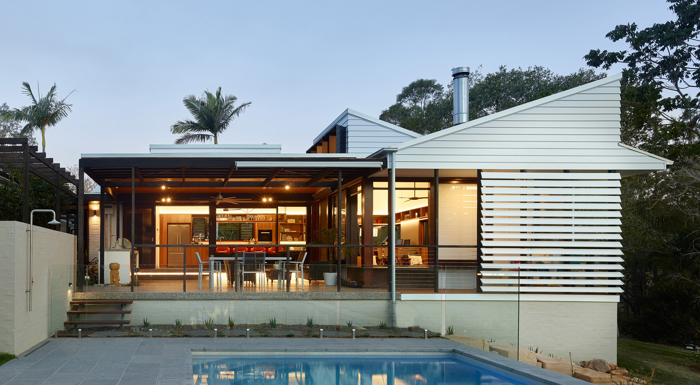 Samford valley House by Bligh Graham
