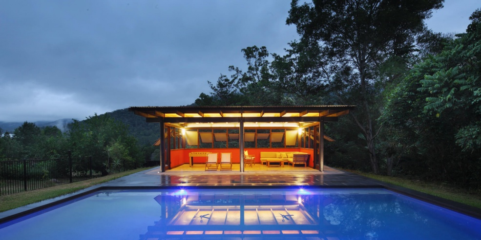 Cedar Creek House and Studio
